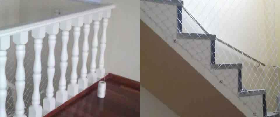 Redes para Escadas no Carandiru